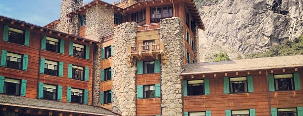 The Ahwahnee Hotel is one of Cali.