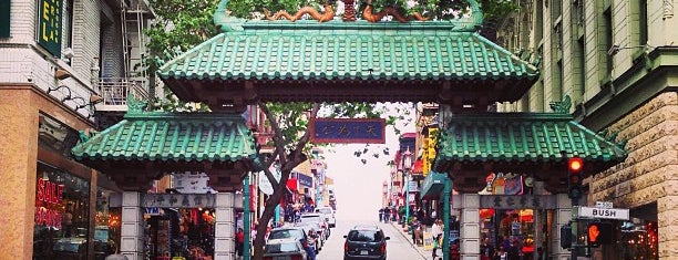 Chinatown Gate is one of USA: San Francisco.