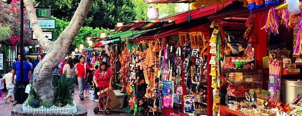 Olvera Street is one of Los Angeles.