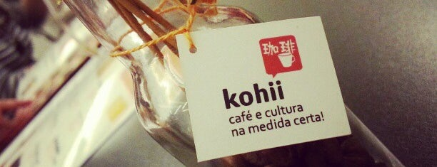 Kohii - Café e Cultura is one of Bakeries, Coffee Shops & Breakfast Places.