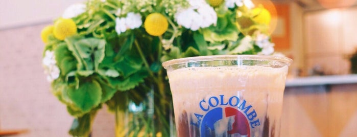La Colombe Torrefaction is one of NYC.