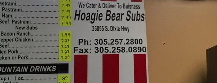 Hoagie Bear Subs is one of Tempat yang Disukai Avery.