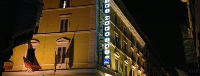 Best Western Hotel Mondial is one of Evren'in Beğendiği Mekanlar.