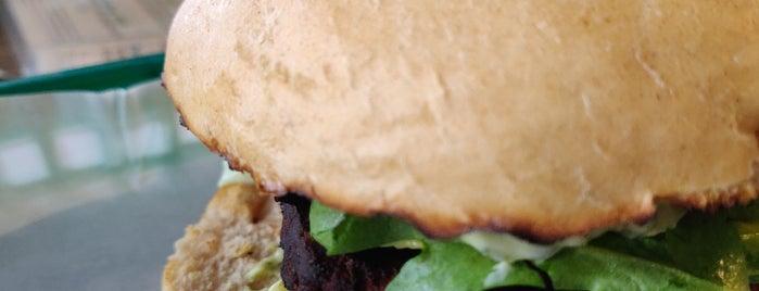 Wilhelms-Burger is one of Marcos Lieblingsorte in Berlin.