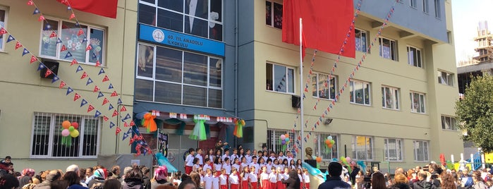 60. Yıl Anadolu İlköğretim Okulu is one of Burası.