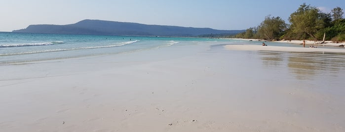Sok San Beach (Long Beach) is one of Cambodia.