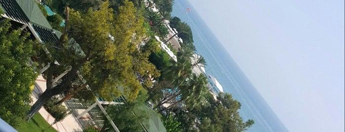 Güriş Mirage Park Resort Otel is one of Gönül 님이 좋아한 장소.
