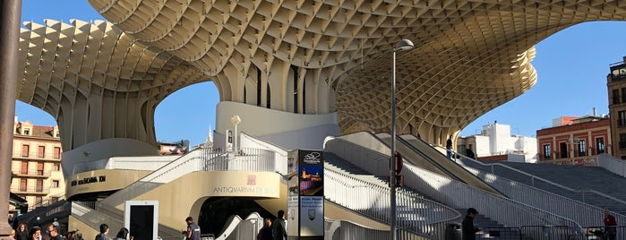 Mirador de Metropol Parasol is one of Titzian.