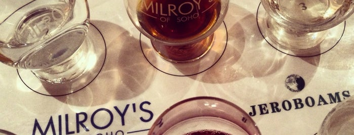Milroy's is one of London.