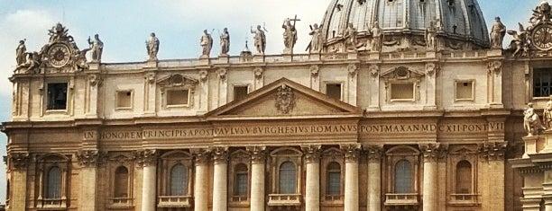 Basilica di San Pietro is one of ROME.