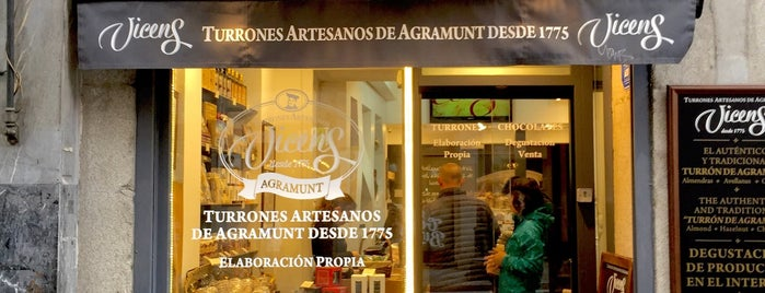 Torrons Vicens: Artesa D' Agramunt is one of madrid.