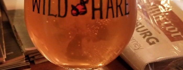 Wild Hare Hard Cider is one of Loudoun Ale Trail.