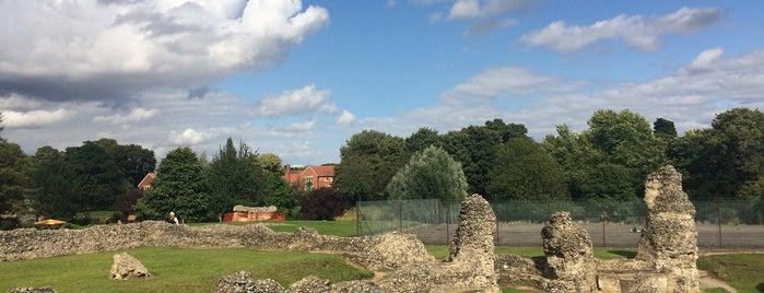 Bury St Edmunds Abbey is one of Locais curtidos por Carl.