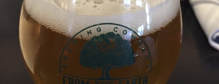 From The Earth Brewing Company is one of Atlanta 🍑.