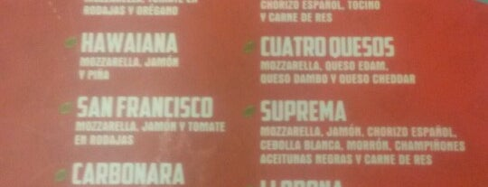 Mr. Pizza is one of Comidas.