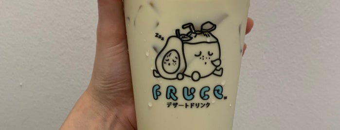 Fruce is one of Micheenli Guide: Popular/New bubble tea, Singapore.