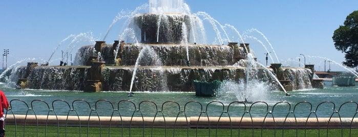 Clarence Buckingham Memorial Fountain is one of Lugares favoritos de Rachel.