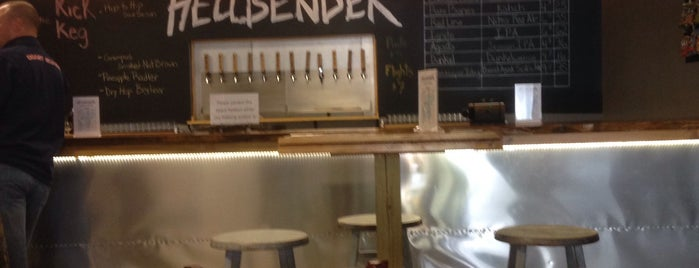 Hellbender Brewing Company is one of Breweries in the DC Area.