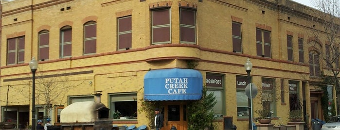 "Putah Creek Cafe is one of ""Diners, Drive-Ins & Dives"" (Part 1, AL - KS)."