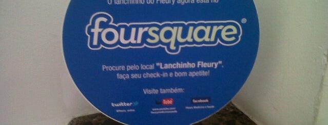 Lanchinho Fleury is one of Tempat yang Disukai Normélia.