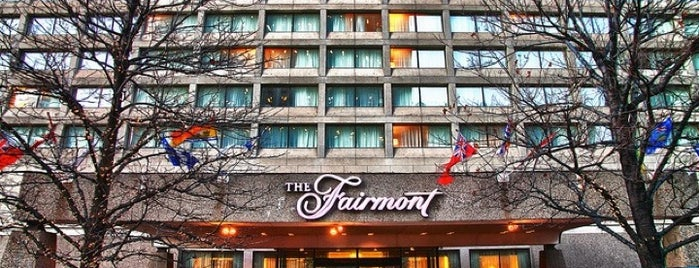 The Fairmont Winnipeg is one of Renda's Saved Places.