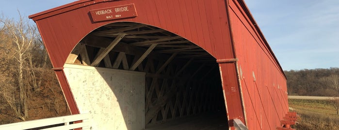 Hogback Covered Bridge is one of Posti salvati di Lizzie.