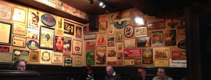 't Brugs Beertje is one of Bruges bars.