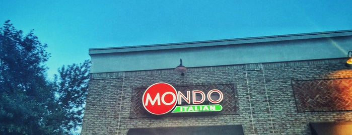 Mondo Italian Kitchen is one of Italian.