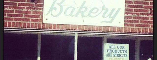 Tel-Aviv Kosher Bakery is one of Orte, die David gefallen.