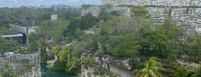 Hotel Xcaret Mexico is one of Alan'ın Beğendiği Mekanlar.