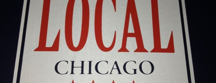 The Local Chicago is one of United Mileage Plus Dining Spots.