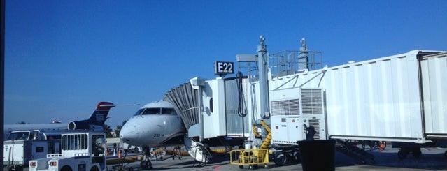 Aeropuerto Internacional Douglas (CLT) is one of Charlotte Favorites.