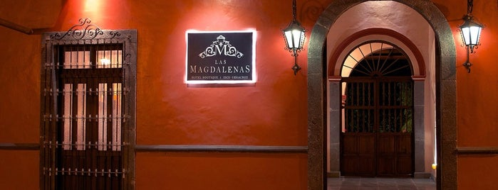 Hotel Boutique Las Magdalenas is one of Locais curtidos por Leo.
