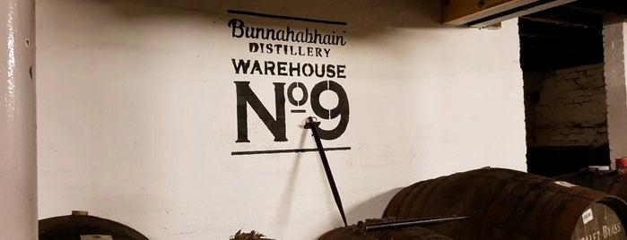 Bunnahabhain Distillery is one of Scotland.