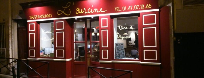 L'Ourcine is one of Paris.