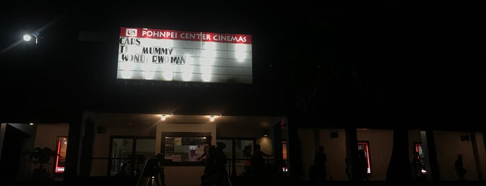 Pohnpei Center Cinemas is one of Asia & Oceania.