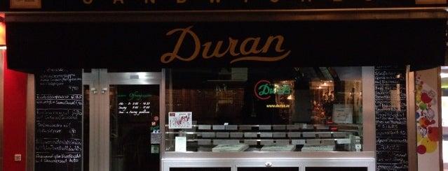 Duran Sandwiches Superimbiss Gmb.H. is one of Lieux qui ont plu à Saba.