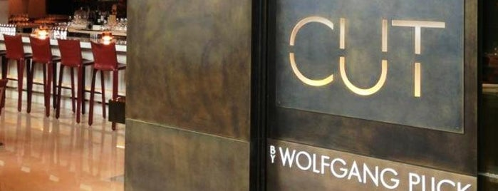 CUT by Wolfgang Puck is one of #Singapore.