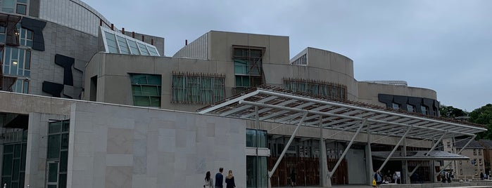 Scottish Parliament is one of Places to visit in Edinburgh.
