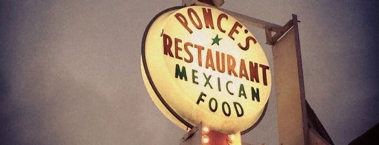 Ponce's Mexican Restaurant is one of Grub.