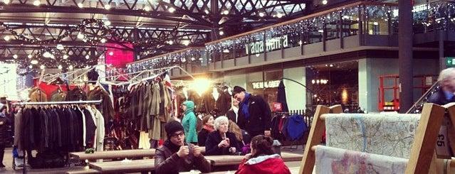Old Spitalfields Market is one of LNDN.
