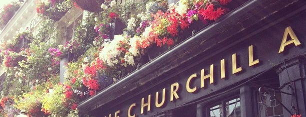 The Churchill Arms, Kensington is one of Let's go to London!.