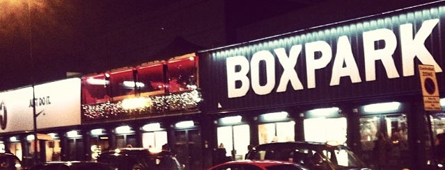 BOXPARK Shoreditch is one of Hi, London!.