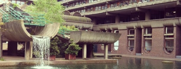 Barbican Centre is one of Architecture.