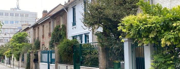 Villa Daviel is one of Paris atypique.