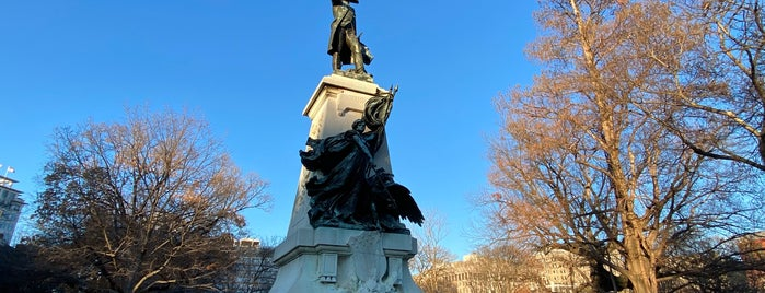 Rochambeau Statue is one of DC Monuments Run.