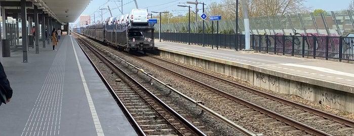 Metrostation Holendrecht is one of Amsterdam.