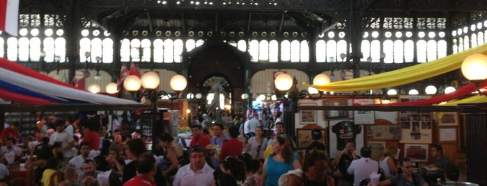 Mercado Central is one of Minha Santiago (Chile).