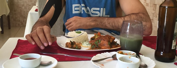 Namastê Restaurante Indiano is one of Brasília - almoço com bom custo benefício.