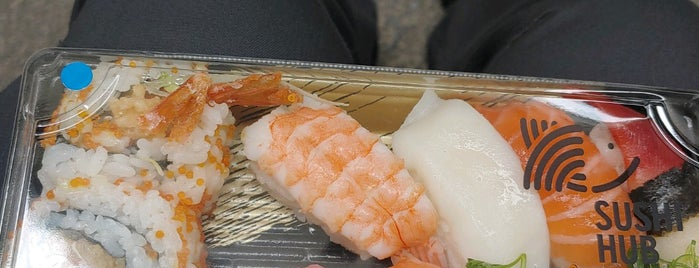 Sushi Hub is one of Melbourne   Favourites.
